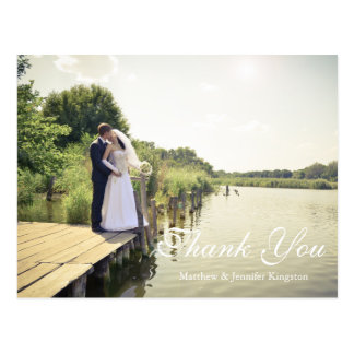 Forever & Always | Silhouette of Love Thank You Postcard