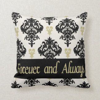 Forever and Always vintage Throw Pillow