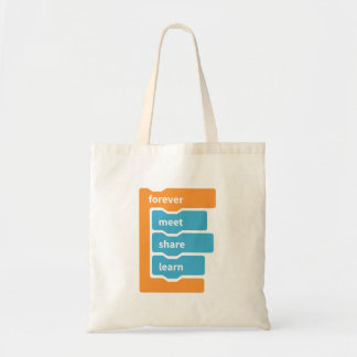 Forever Blocks Tote Bag