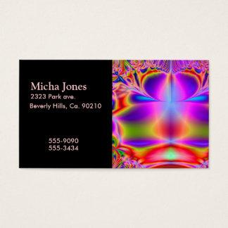 Forever Color Fractal Business Card