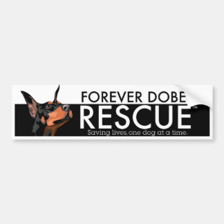 Forever Dobes Bumper Stickers