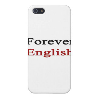 Forever English Cover For iPhone 5