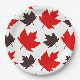 Forever Faithful Canada Day Party Paper Plates