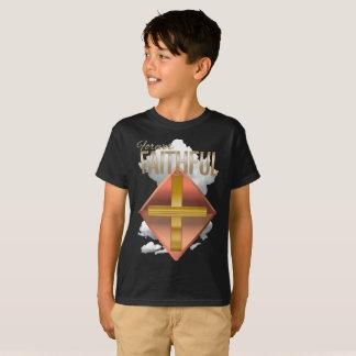 Forever Faithful Christian Kid's Dark Shirt