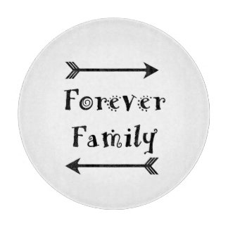 Forever Family - Adpotion Design Cutting Board