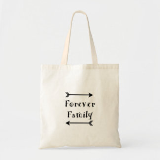 Forever Family - Adpotion Design Tote Bag