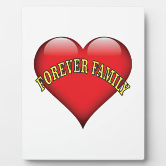forever family photo plaque