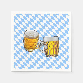 Forever Friends Oktoberfest Party Paper Napkins Disposable Napkin