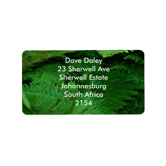 Forever green label