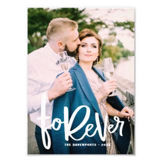 Forever Hand Lettered | Wedding Photo