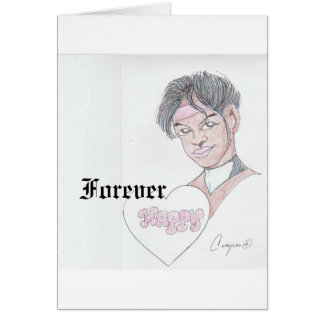 Forever Happy greeting card