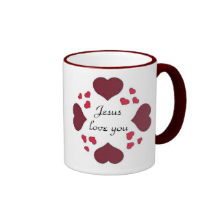 Forever Hearts-Jesus love you Mugs