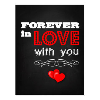 Forever in Love With You Postcard