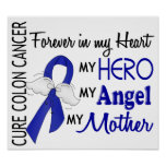 Forever In My Heart Mother Colon Cancer Poster