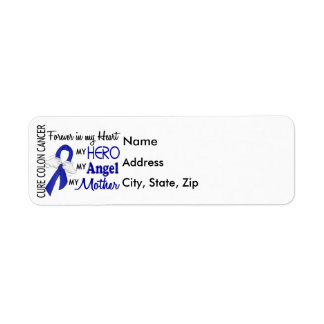 Forever In My Heart Mother Colon Cancer Return Address Label