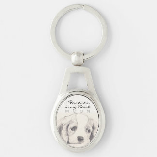 Forever in my heart Pet keepsake Keychain