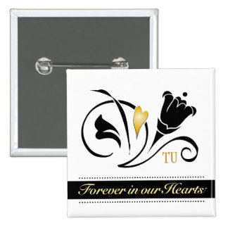 Forever in our Hearts Custom Square Button