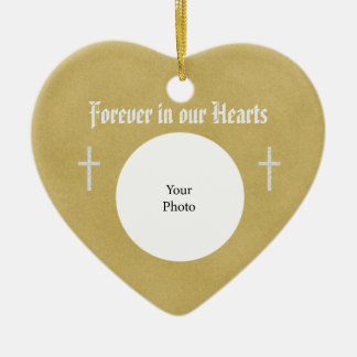 Forever in our Hearts Memorial Christmas Ornament