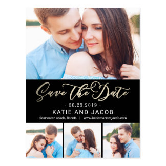 Forever Love EDITABLE COLOR Save The Date Postcard