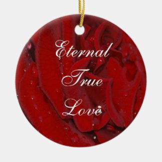 Forever Love Rose Ornament