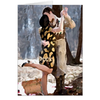 Forever Lovers Greeting Card