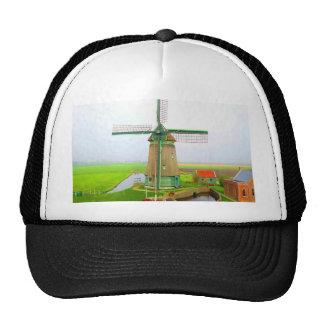 Forever memory netherlands scenic landscape mesh hat