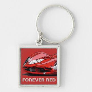FOREVER RED KEY RING