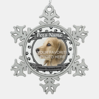 Forever Remembered Dog or Cat Memorial Ornament