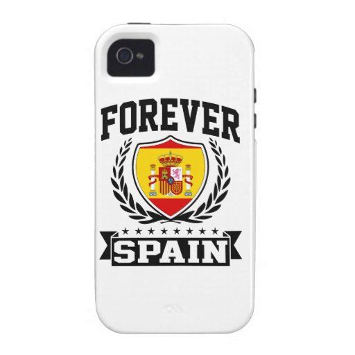 Forever Spain iPhone 4 Cases