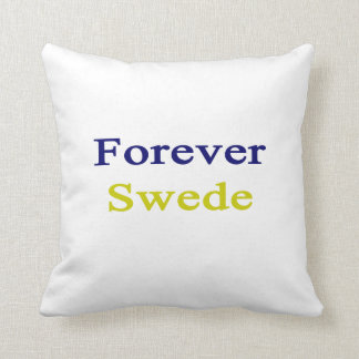 Forever Swede Throw Pillows