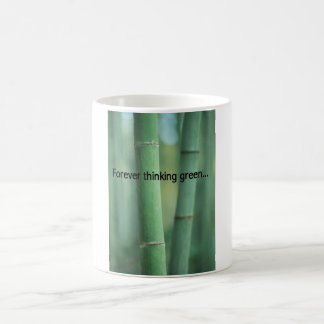 Forever Thinking Green Cup Classic White Coffee Mug