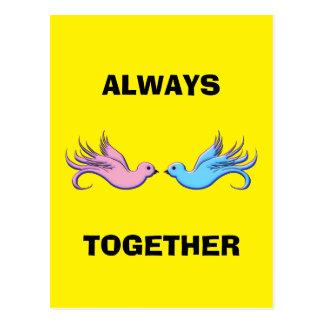 Forever Together Postcard