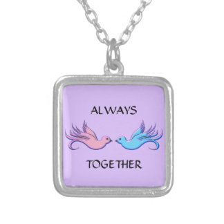 Forever Together Silver Plated Necklace