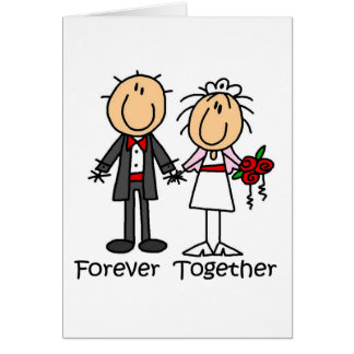 Forever Together T-shirts and Gifts Greeting Card