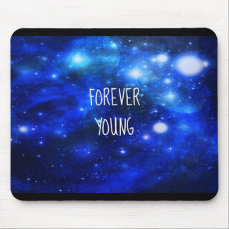 FOREVER YOUNG GALAXY MOUSE PAD