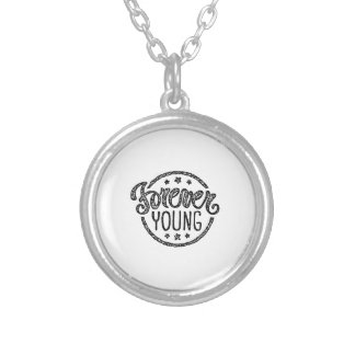 Forever Young Silver Plated Necklace