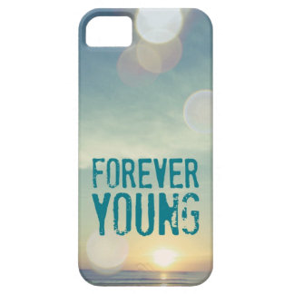 Forever Young Sunset iPhone 5 Cases