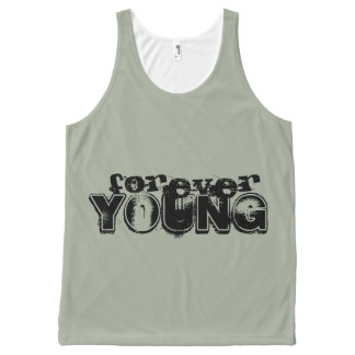 Forever Young Tank Top All-Over Print Tank Top