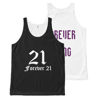 Forever Young Tanktop All-Over Print Singlet
