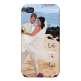 Forever Your Photo Damask Overlay iPhone Cover iPhone 4/4S Case