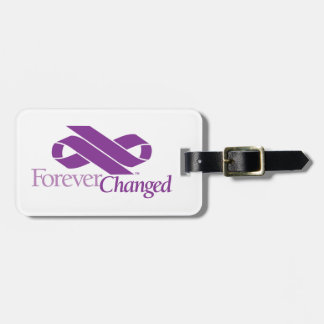 ForeverChanged luggage tag