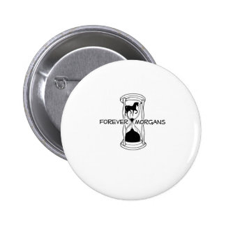 ForeverMorgans Logo Black and White Pins