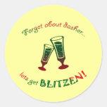 forget about dasher round sticker