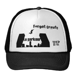 Forget Gravity Mesh Hats