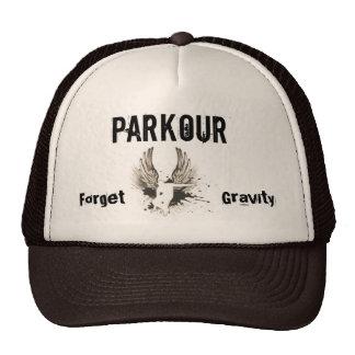 Forget Gravity, Parkour Trucker Hat