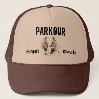 Forget Gravity, Parkour Trucker Hat