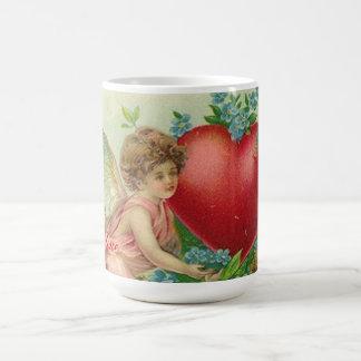 Forget me knot Valentine Basic White Mug