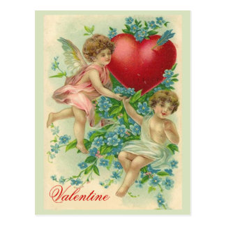 Forget me knot Valentine Postcard