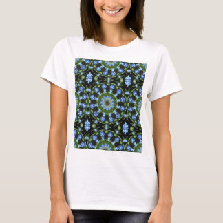 Forget Me Not 001 01, Forgetmenot, Nature Mandala T-Shirt