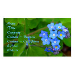 Forget-Me-Not Business Card